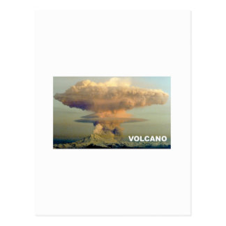 Distant Volcano Postcard
