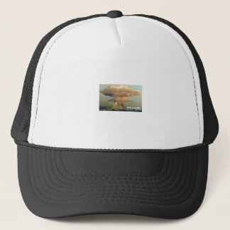 Distant Volcano Trucker Hat