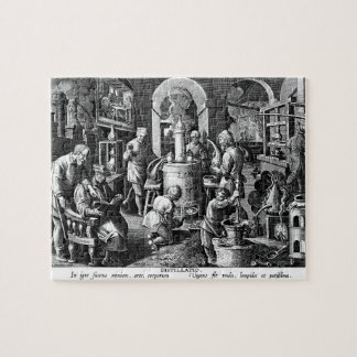 Distillation in an Alchemy Lab Jigsaw Puzzle