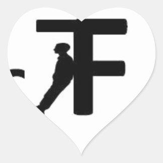 DistinctFriend Accesories Heart Sticker