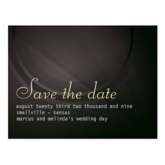 Distinction personalized Save the Date Card