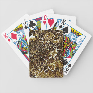 Distinctive Abstract Texture Poker Deck