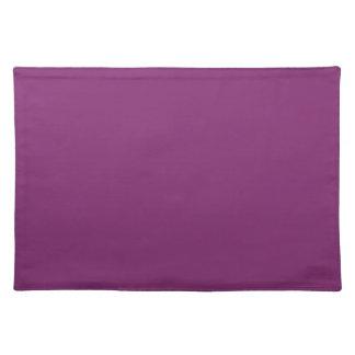 Distinctly Elite Purple Color Placemat
