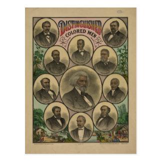 Distinguished Colored Men Frederick Douglass 1883 Postcard