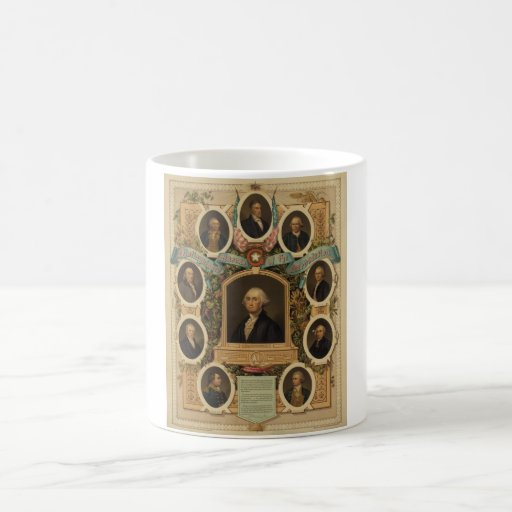 Distinguished Masons of the American Revolution Mug