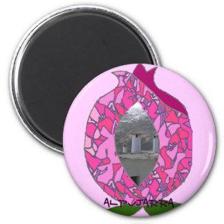 Distinguished pin fantasy Alpujarra Granada Magnet