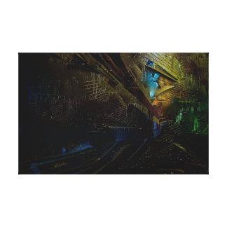 Distorted Artwork Canvas Print