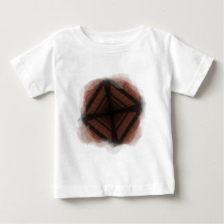 Distorted colorful checkers baby T-Shirt
