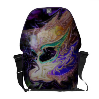 Distorted Tears Courier Bag