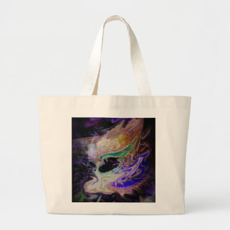 Distorted Tears Tote Bags