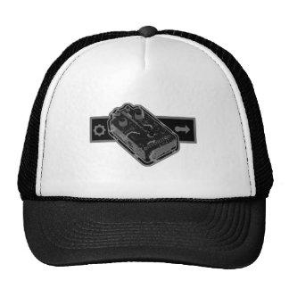 Distortion PEDAL - Black & Grey Distressed 2 Cap