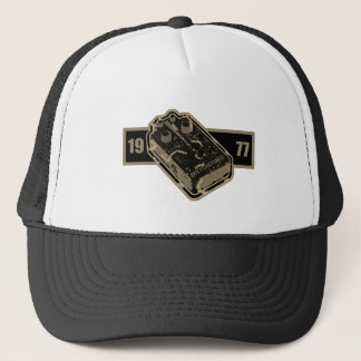 Distortion Pedal Black & White/Sepia Tone 1977 Trucker Hat