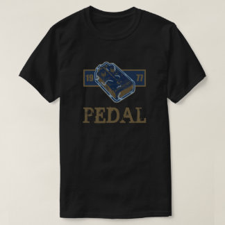 Distortion Pedal Blue/Gold 1977 T-Shirt