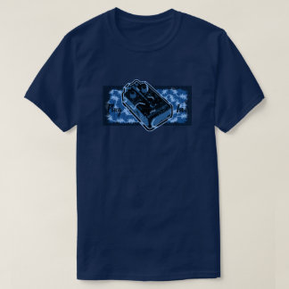 Distortion Pedal Blue Plug In T-Shirt