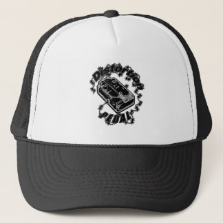 Distortion Pedal -Electric Shock Black Trucker Hat
