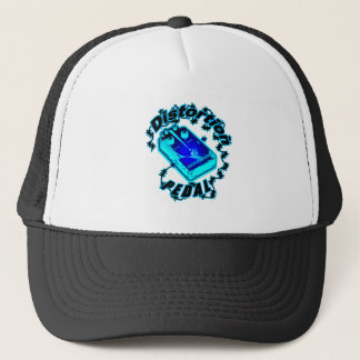 Distortion Pedal -Electric Shock Blue Trucker Hat