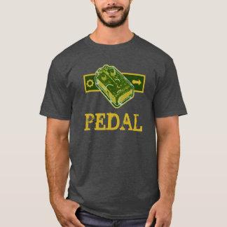 Distortion PEDAL - Green & Mustard Distressed T-Shirt
