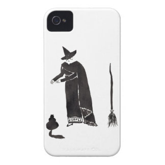 Distracted Witch iPhone 4 Case-Mate Cases