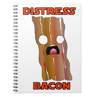 Distress Bacon Swag Notebook