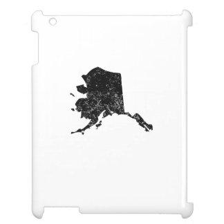 Distressed Alaska Silhouette iPad Cover