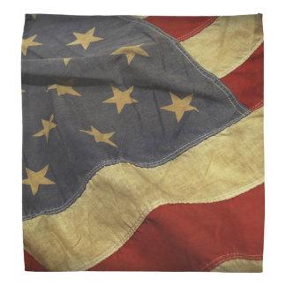 Distressed American Flag Bandana