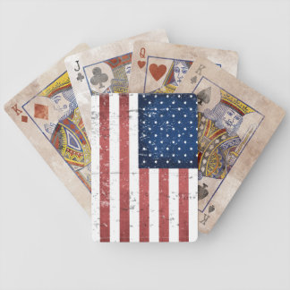 Distressed American Flag Deck Of Playing Cards
