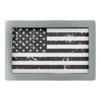 Distressed American Flag II Belt Buckle