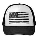 Distressed American Flag II Trucker Hat