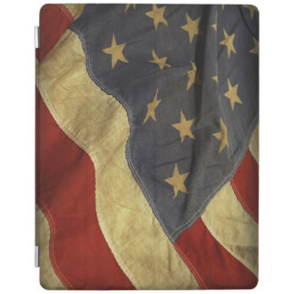 Distressed American Flag iPad Cover