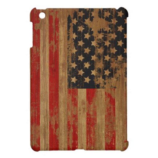 Distressed American Flag iPad Mini Cover For The iPad Mini