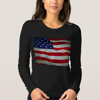 Distressed American Flag Tees