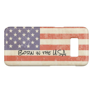 Distressed American Theme Case-Mate Samsung Galaxy S8 Case
