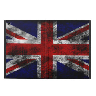 Distressed and Grunge Union Jack the U.K Flag iPad Air Covers