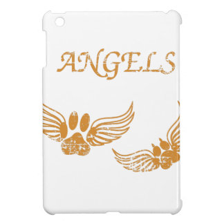 Distressed Angel Pet Paws iPad Mini Cases