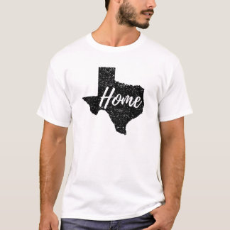 Distressed Any Colour Texas Home Shirt