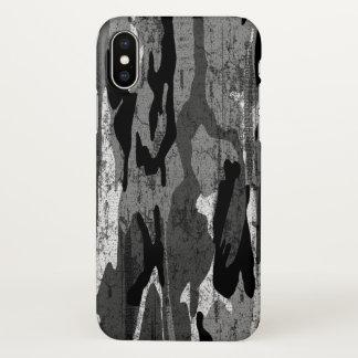Distressed Arctic Camo iPhone X Case
