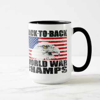 Distressed Back To Back World War Champs