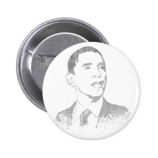 Distressed Barack Obama Buttons