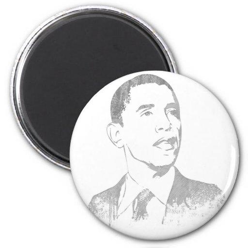 Distressed Barack Obama Magnets Fridge Magnet