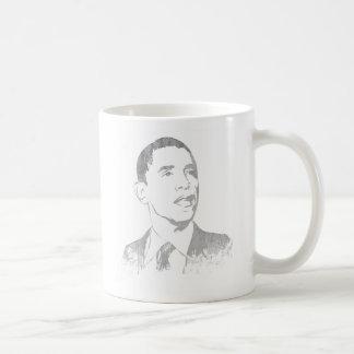 Distressed Barack Obama Mugs Coffee Mug