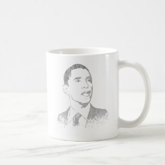 Distressed Barack Obama Mugs