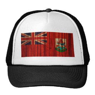 Distressed Bermuda Flag Cap