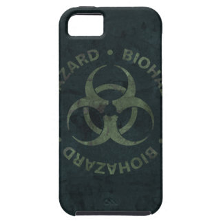 Distressed Biohazard iPhone Case