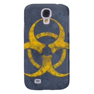Distressed Biohazard Symbol iPhone Case