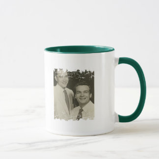 Distressed Border 2-sided Ringer Mug