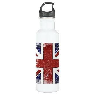 - Distressed British Flag 710 Ml Water Bottle
