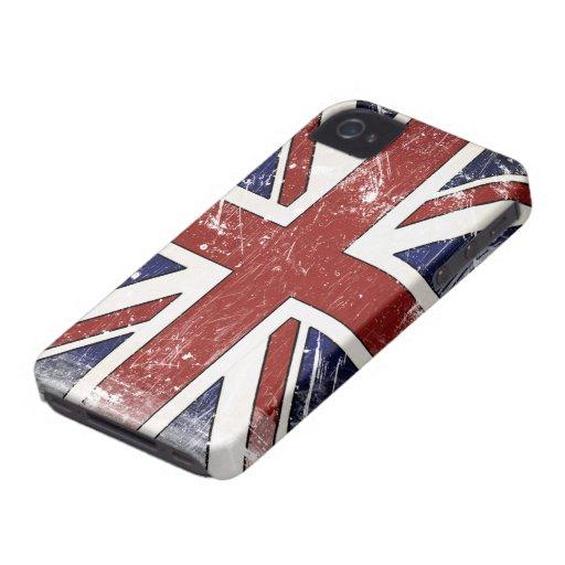 Distressed British Flag BlackBerry Bold Case