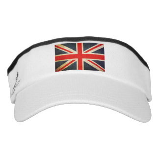Distressed British Flag Visor