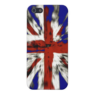 Distressed British Union Jack iPhone 5/5S Covers
