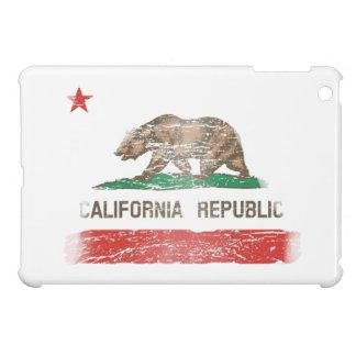 Distressed California Republic Flag iPad Mini Cases